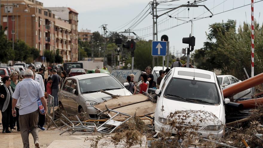 Reanudado el AVE Madrid-Valencia tras los cortes por las fuertes lluvias
