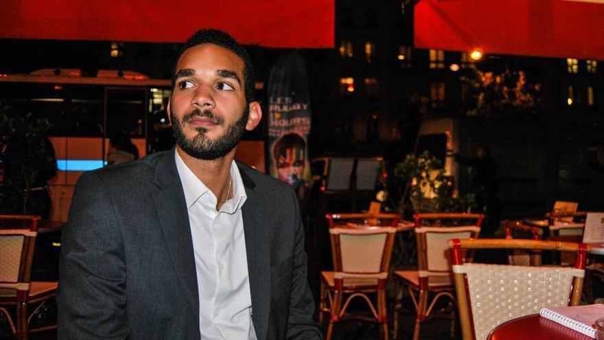 Cédric Marsolle, estudiante de derecho, simpatiza con la extrema derecha y forma parte de la primera asociación universitaria del Frente Nacional / José Bautista