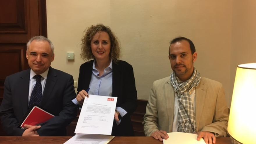 Registro de la Proposición no de Ley del PSOE sobre Cercanías
