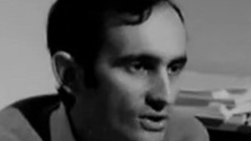 Antonio Cubillo en sus años de mayor activismo.