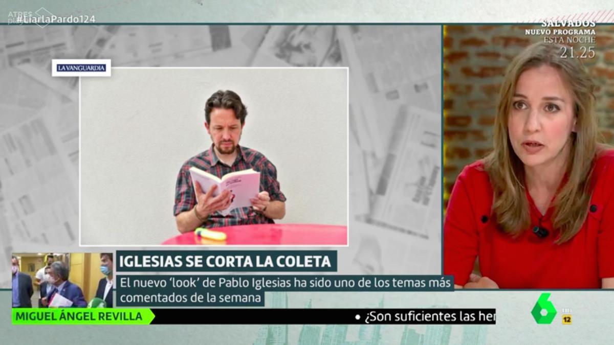 Tania Sánchez, en 'Liarla Pardo'