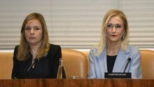 Cristina Cifuentes comparece en la comisión de investigación de universidades de Madrid