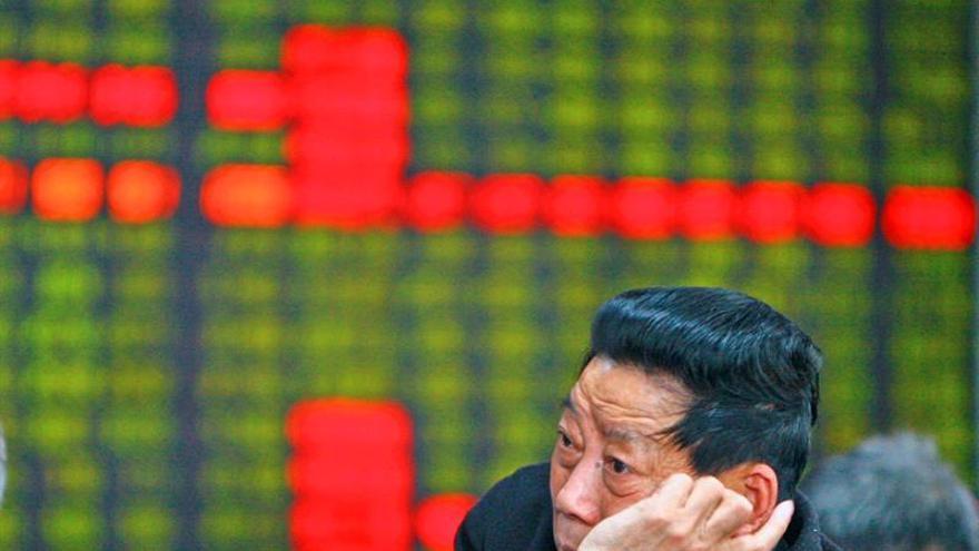 La Bolsa de Shanghái abre a la baja y desciende un 0,23 por ciento