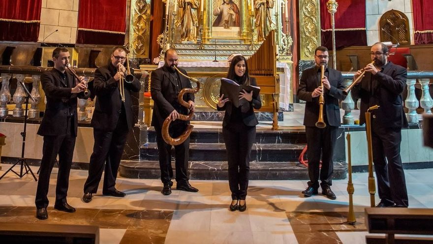 El grupo de música renacentista Lucentum XVI