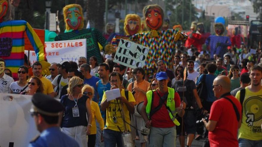 Manifestación del 12M en LPGC #13