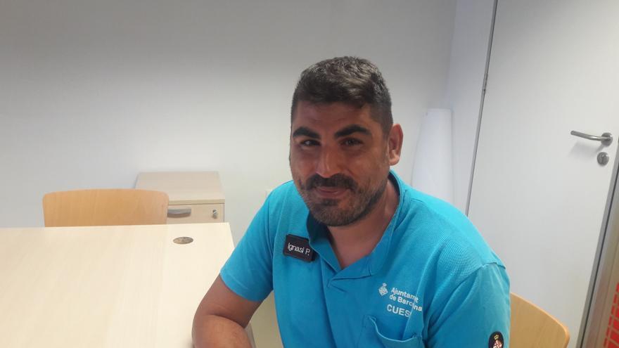Nacho Paraire participó en el dispositivo de atención a las víctimas del 17A.