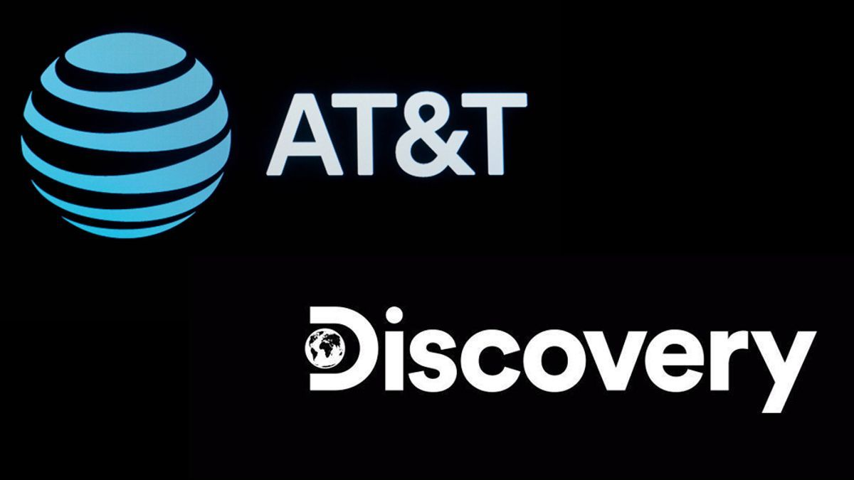 Logos de ATT y de Discovery