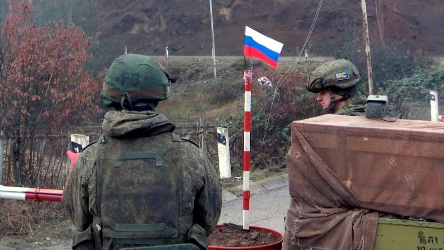 Rusia concluye el despliegue de sus fuerzas de paz en Nagorno Karabaj