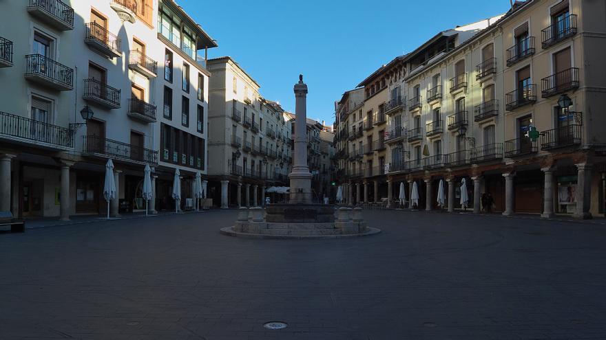Plaza del Torico de Teruel.