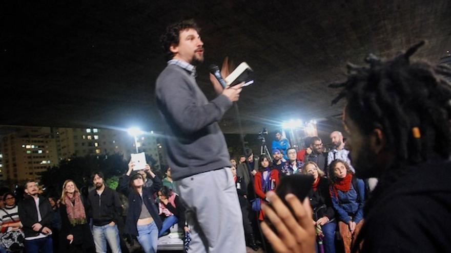 Asamblea en Brasil / Foto: Bernardo Gutiérrez