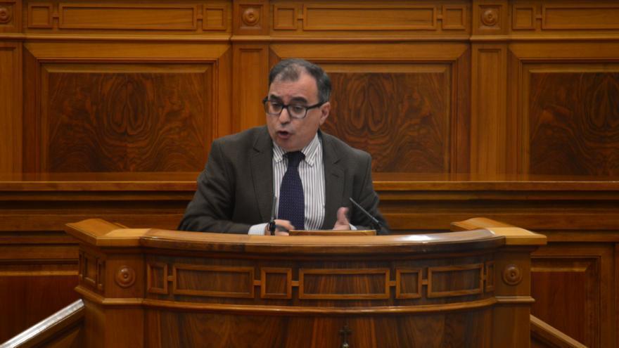 Fernando Mora, portavoz del PSOE en las Cortes de Castilla-La Mancha de Sanidad / Foto: Javier Robla