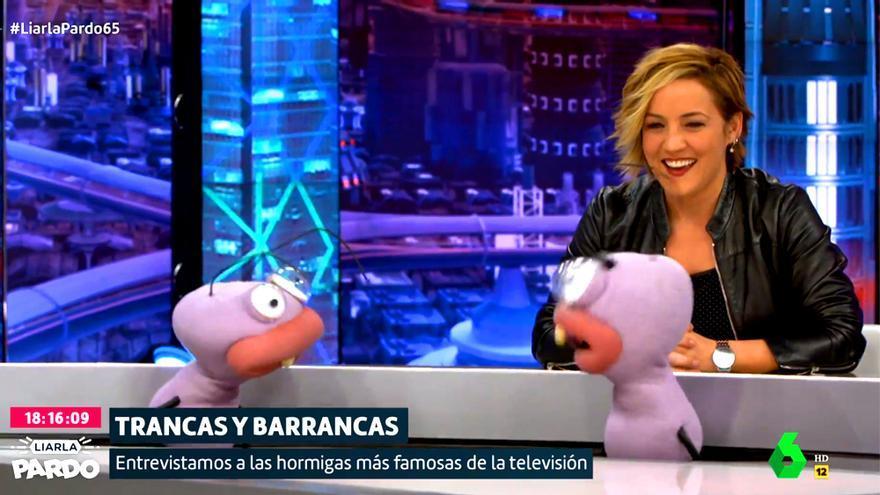 Cristina Pardo, con Trancas y Barrancas en 'Liarla Pardo'