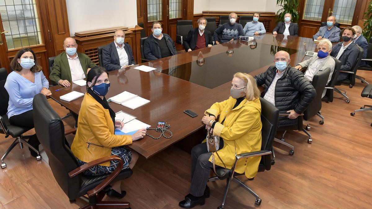 Comisión organizadora de los actos de homenaje a Vital Alsar