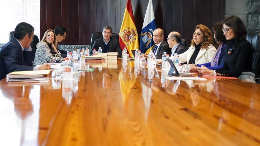 Consejo de Gobierno celebrado en Santa Cruz de Tenerife.EFE/Ramón de la Rocha
