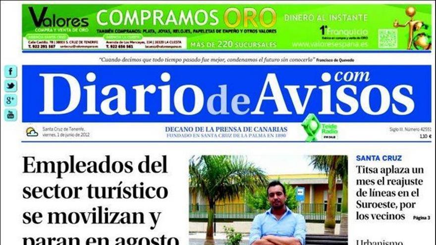 De las portadas del día (01/06/2012) #2