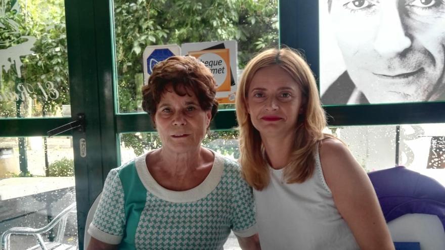 Encuentro de Ana Belén y su madre biológica FOTO: Ana Belén Pintado