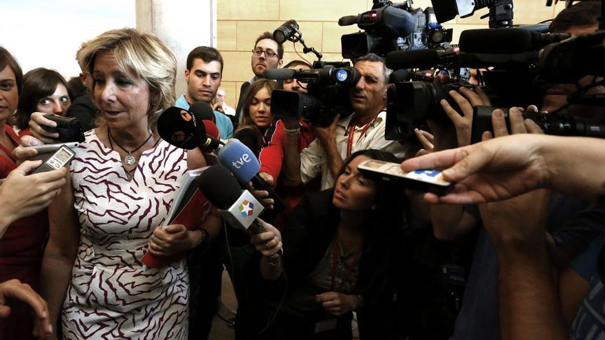 Aguirre dice que la manifestación de ayer demuestra la necesidad de revisar el Estado de las autonomías
