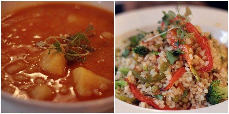 Judías blancas estofadas y arroz agripicante con verduras | R. ANGULO