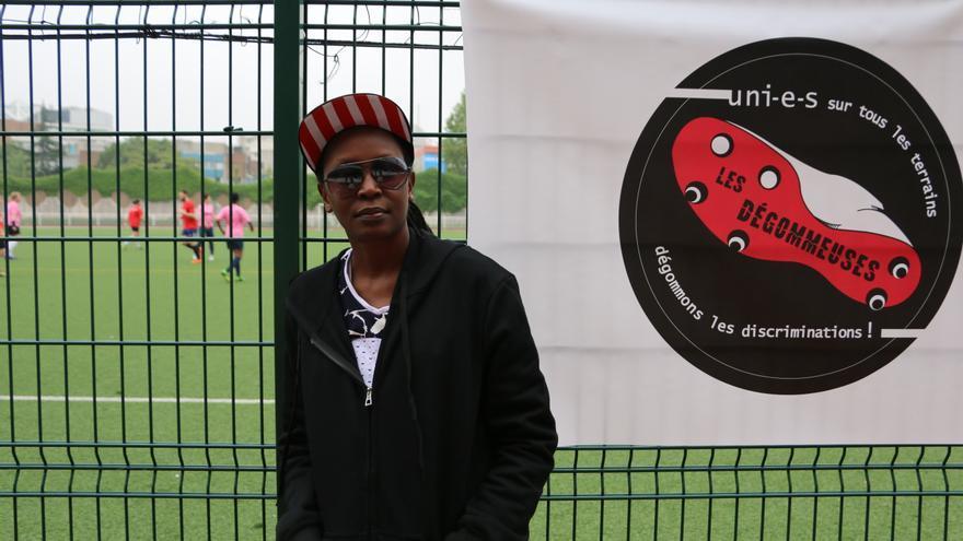 Kasha Nabagesera es consciente de los riesgos que corre al defender la libertad de la orientación sexual en Uganda, pero le compensa poder ayudar a todas las personas que la contactan pidiendo ayuda. Luna Gámez.