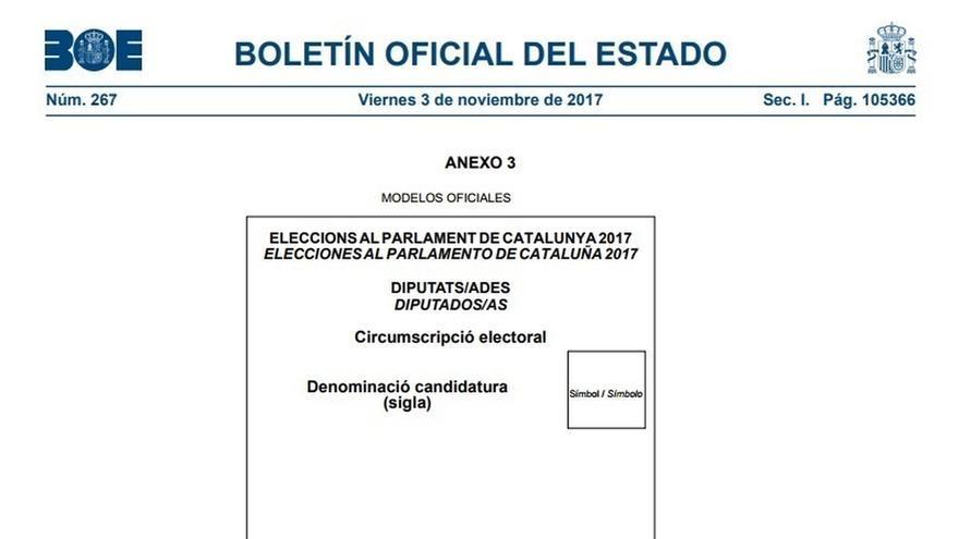 Los presidentes de las mesas cobrarán 71 euros y los vocales, 63, un euro más que en las catalanas de 2015