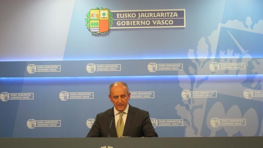 """Gobierno vasco """"supone"""" que los arrestos de este martes por enaltecimiento del terrorismo estarán """"fundamentados"""""""