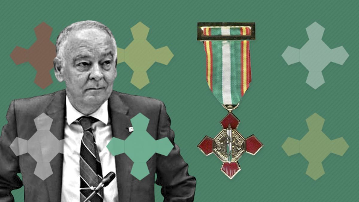 El comisario jubilado Eugenio Pino, en su época 'señor' de las medallas en la Policía