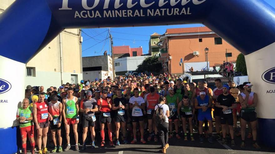 Medio millar de corredores participaron en la prueba / Foto de Castáñate Las Patas