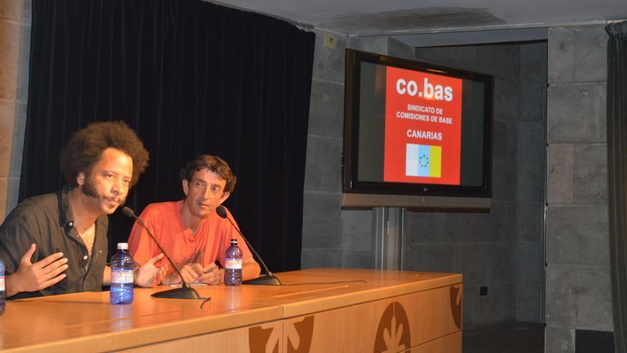 Boots Riley en su conferencia este miércoles sobre 'Música y lucha política' en Las Palmas de Gran Canaria   Iago Otero Paz