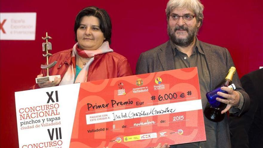 """""""Lechazo Taj Mahal"""", gana el XI Concurso nacional de pinchos y tapas"""