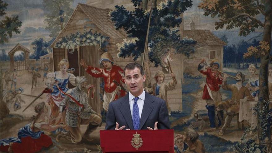 El Rey subraya que España se siente orgullosa de su diversidad lingüística