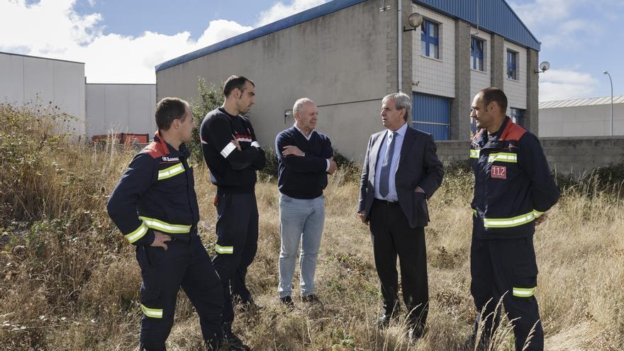 El Gobierno inicia los estudios necesarios para acometer la ampliación del parque de emergencias de Reinosa