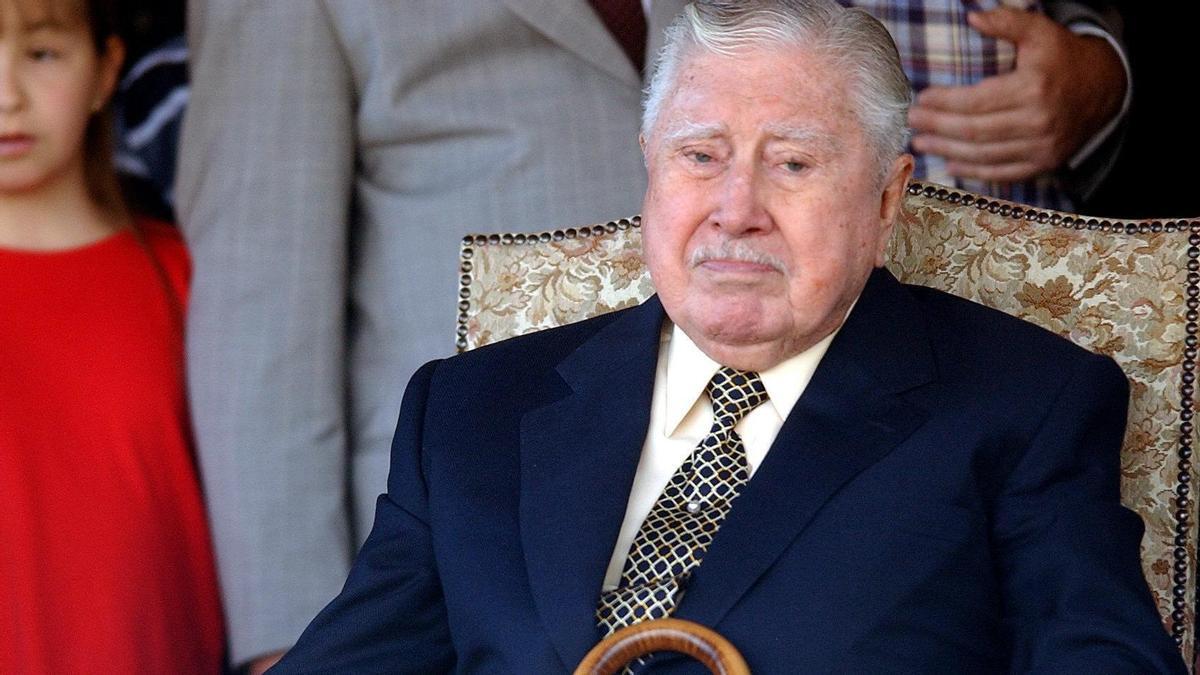 El dictador chileno Augusto Pinochet en una imagen de archivo