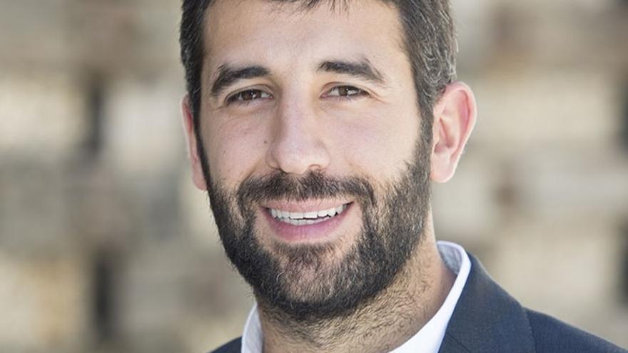 Borja Monreal, el escritor galardonado por la Fundación CajaCanarias