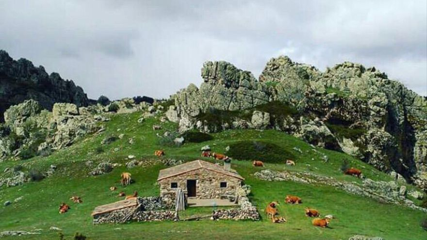 Uno de los paisajes de Orea