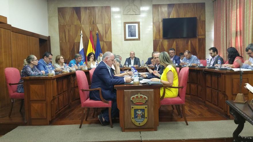 Pleno del Cabildo celebrado este miércoles. Foto: LUZ RODRÍGUEZ.