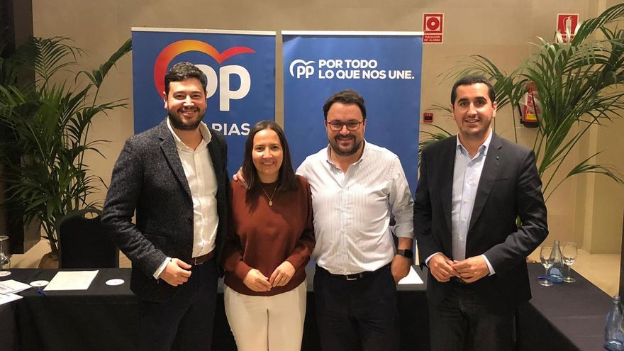 Jacob Qadri, Lorena Hernández, Asier Antona y Borja Pérez.