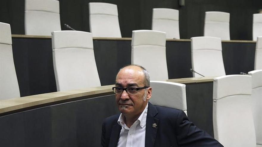 El diputado general de Gipuzkoa de la época a la que se refiere la demanda, Martín Garitano.