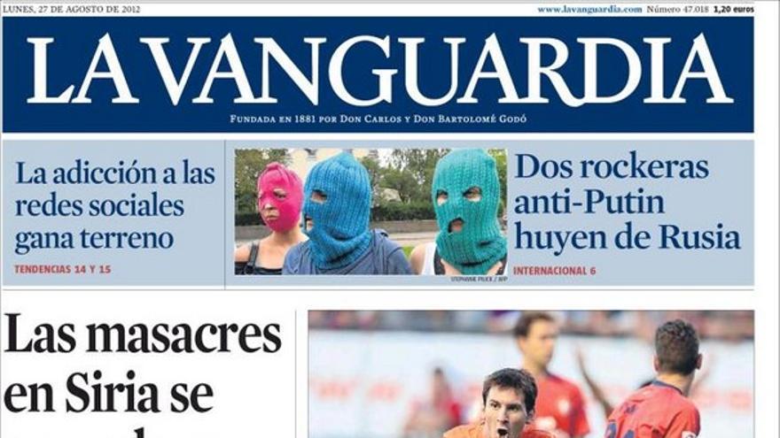 De las portadas del día (27/08/2012) #11