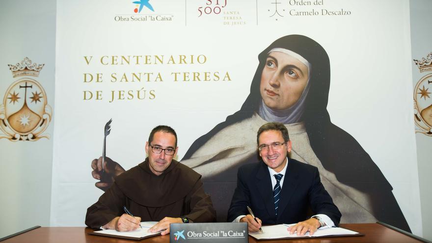 Obra Social 'la Caixa' celebrará el V centenario del nacimiento de Santa Teresa