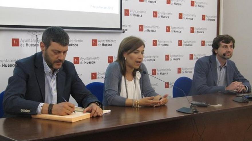 Ana Alós fue alcaldesa de Huesca entre 2011 y 2015