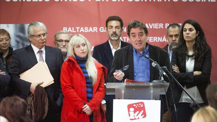Miguel Ríos, Sabina y Almodóvar apoyarán al candidato de IU a la Comunidad de Madrid