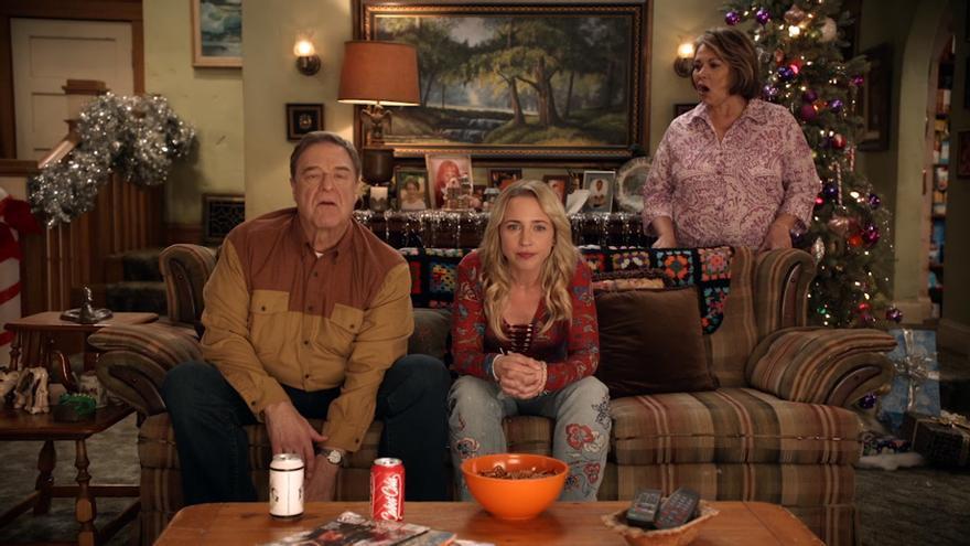 Promo de Roseanne con Dan Conner