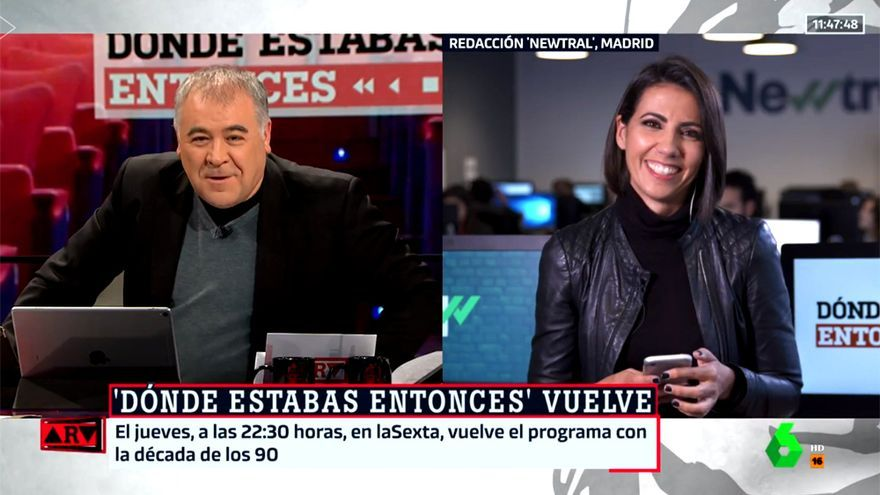 Ana Pastor y Ferreras, hoy en Al rojo vivo
