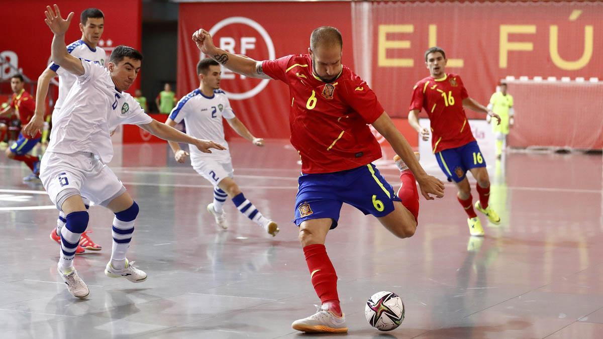 Solano, con España ante Uzbekistán