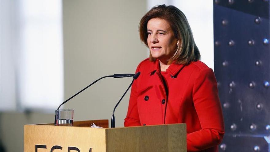 Báñez explica el viernes al Congreso la subida del 0,25 % de las pensiones