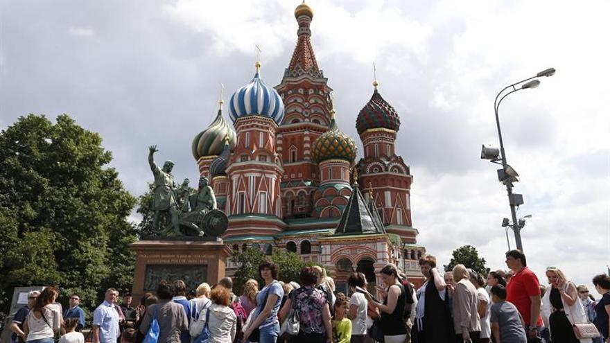 La emblemática catedral moscovita de San Basilio cumple 455 años