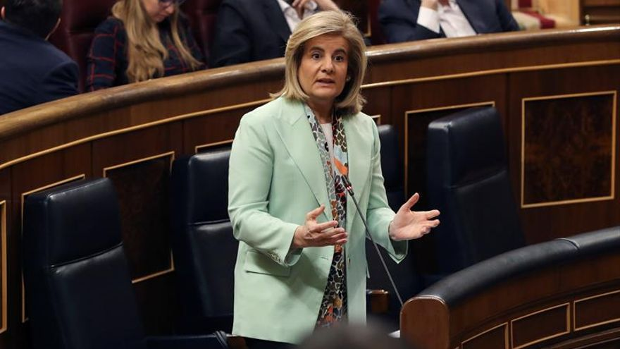 Báñez: La brecha de género en las nuevas pensiones cae al 19 % con el complemento
