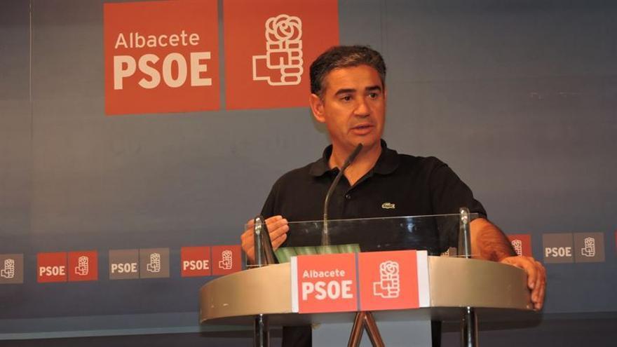 Manuel González Ramos, cabeza de lista por el PSOE Albacete para el Congreso. / FOTO: EUROPA PRESS