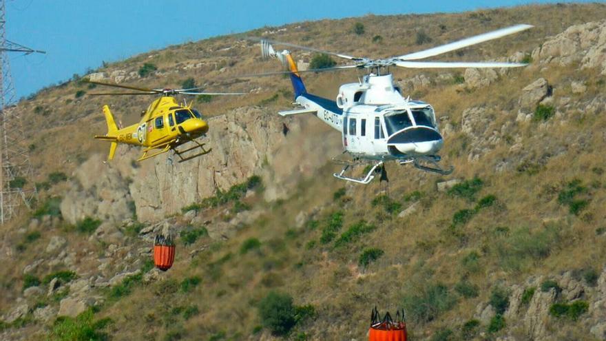 Imagen de archivo de helicópteros del Infoca.