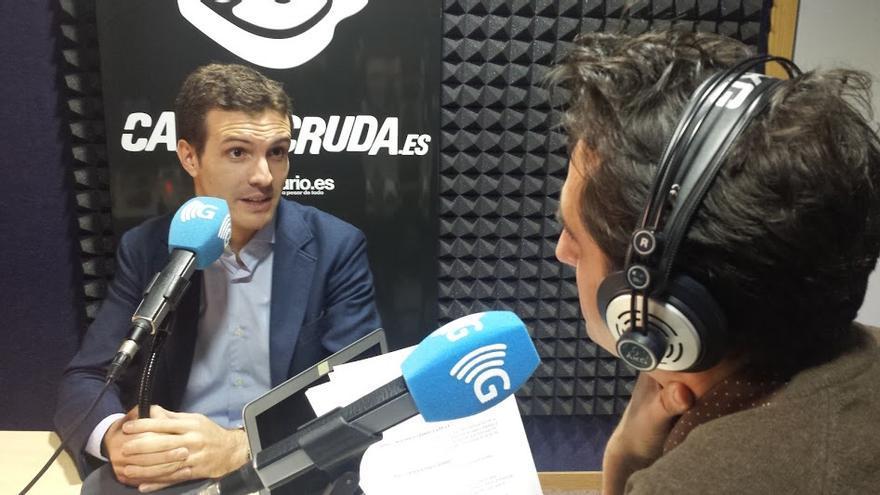 Pablo Casado en Carne Cruda